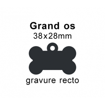 Médaille grand os recto