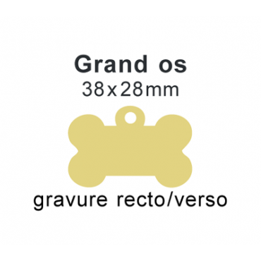 Médaille grand os recto verso